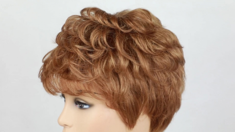 Короткие парики для волос Вот ссылка item BLONDE EINHORN Fringe Per cke 8 zoll Kurzen Haar Per cken