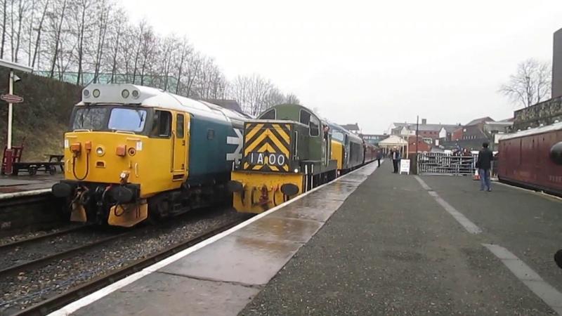 East Lancashire Railway - Spring Diesel Gala - Bury Bolton Street - 18022017