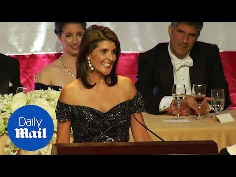 Nikki Haley jokes 'wanted an Indian but Warren failed DNA test'