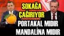 Erdoğan Fatih Portakal'a 'Mandalina' Diyerek Sağlı Sollu Şamarladı