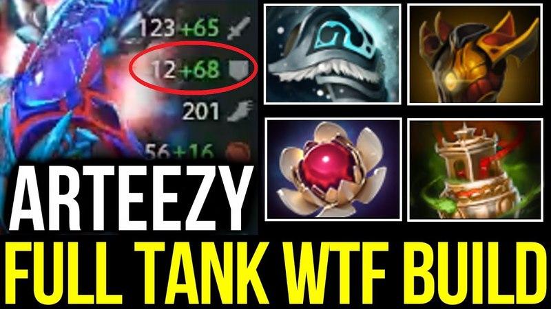 Arteezy Weaver Full Tank WTF Build with Bulba DOTA 2