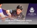 Tomokazu Harimoto vs Yuki Hirano   2018 Australian Open Highlights (R16)