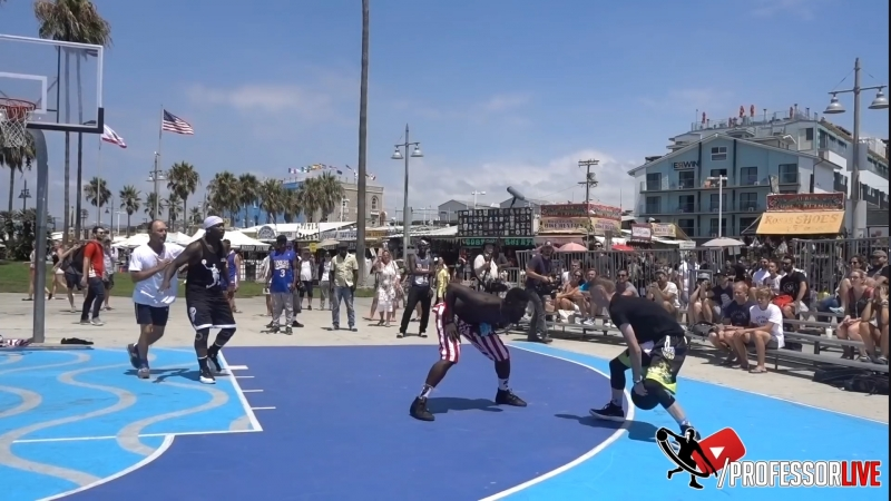 ProfessorLive - The Professor and Bone Collector Taking ANKLES at Venice Beach. EPIC Scenery (09-06-2018)