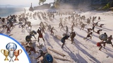 Assassin's Creed Odyssey Conquest Battle Gameplay - 150 v 150 (Exclusive E3 2018 Hands On)