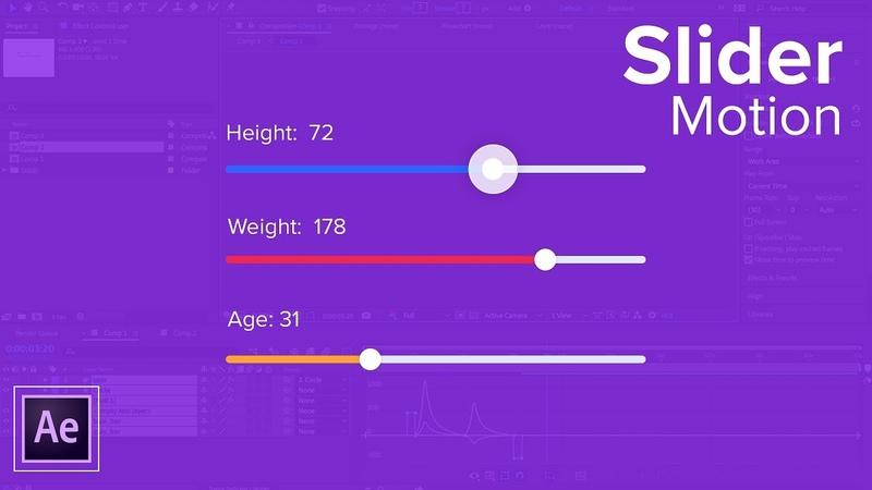 Slider UI Animation Tutorial - Adding Motion to your Designs