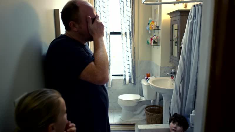 Louie bathtub scene