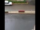 Gecce.az on Instagram_ _Güclü yağan yağış şəhər kü(MP4)