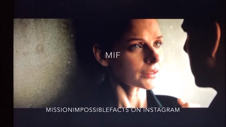 "Rebecca Ferguson on Instagram: ""Mission Impossible Fallout deleted scenes! Ilsa and Ethan🤩. I've added music so sound upp!✨. Creds: @missionimpossi..."