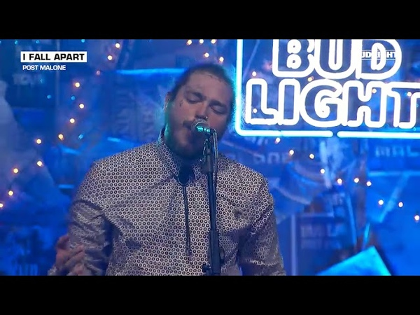 Post Malone I Fall Apart Live From The Bud Light x Post Malone Dive Bar Tour Nashville