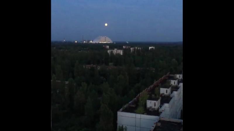 Сталкерский вечер в Припяти, ощущения атмосферы не передаваемы