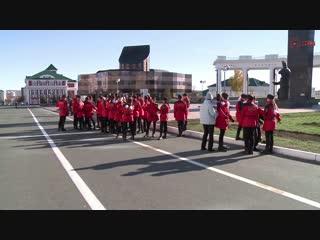Торжественное прохождение кадетов