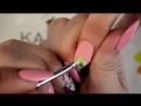 Китайская роспись ногтей 2 дизайна mp4