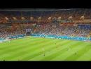 Начало последнего матча ЧМ2018 в Ростове-на-Дону Бельгия vs Япония, который завершился победой Бельгии 3:2 @ 2018.07.02 FIFA