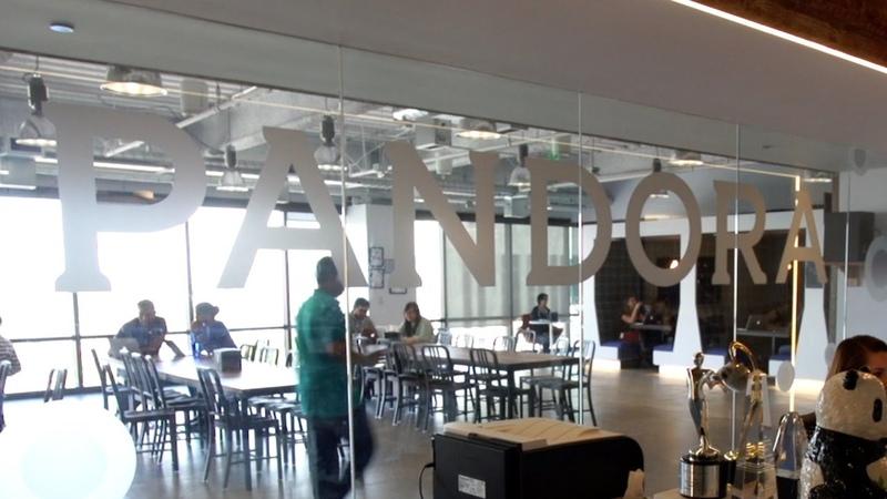 Pandora's Rockin' Oakland HQ | TC Cribs