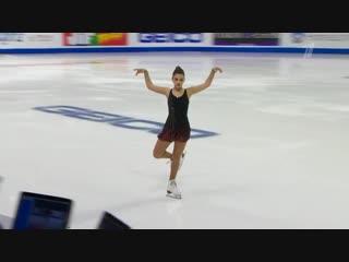 Софья Самодурова - КП, Skate America 2018.
