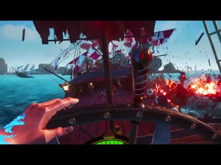 Battlewake vr high-seas pirate combat / official announcement trailer