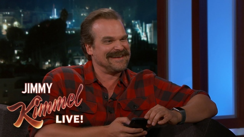 David Harbour Gets Texts with Emojis from Al Pacino