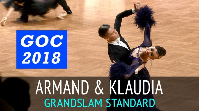Armand Fazullin Klaudia Iwanska | Венский вальс | GOC2018 GrandSlam STANDARD - 3тур
