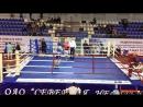 Логинов Константин 1 бой 3 раунд