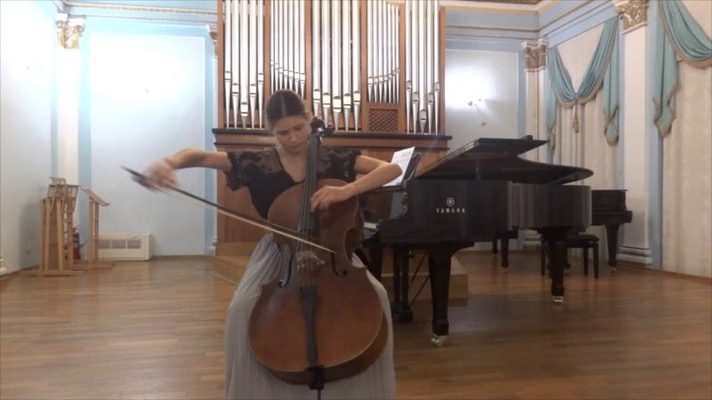 Паганини. Вариации на одной струне на тему Россини. Софья Хускивадзе-Деева.