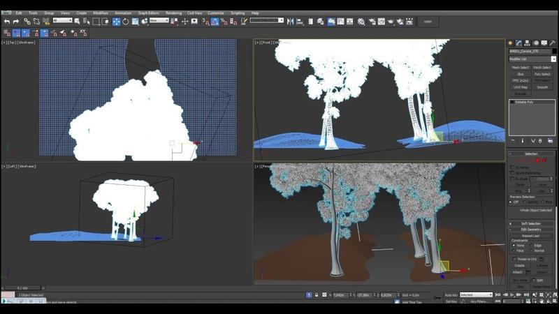 3D Max Что делать если сцена сильно виснет Как создать прокси
