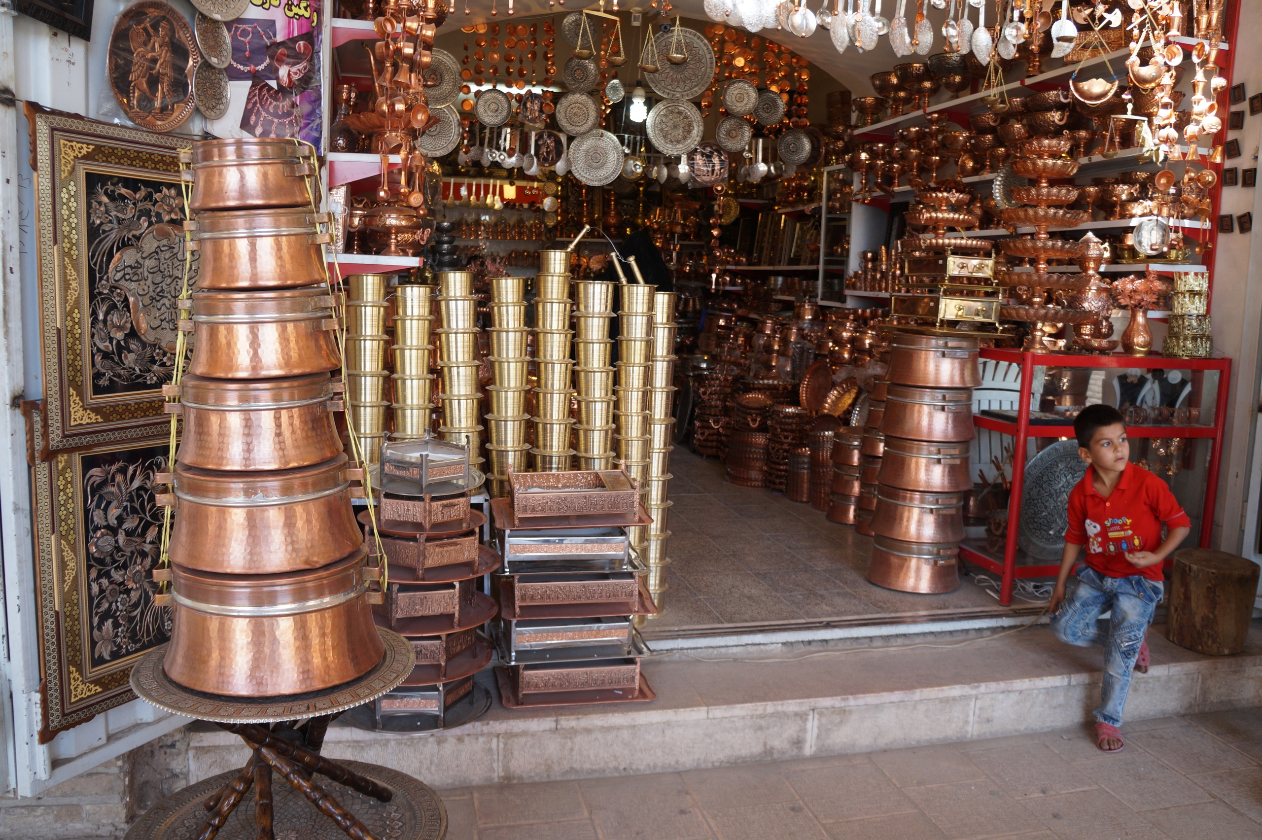 The largest bazaar in the Middle East