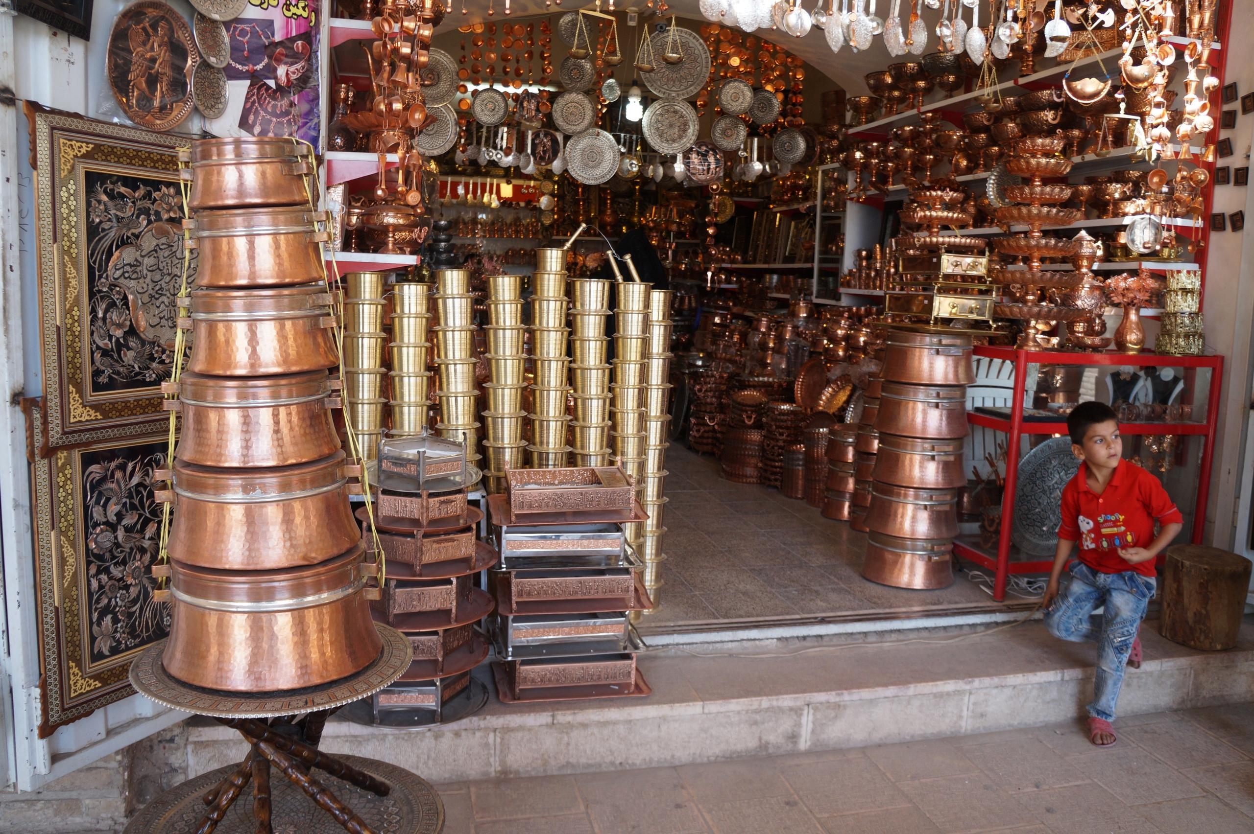 Самый большой базар на Ближнем Востоке