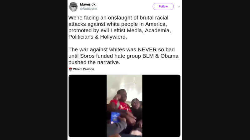 Onslaught of brutal racial attacks against white people in America