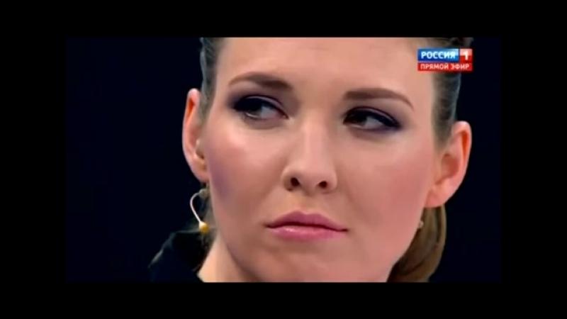 Телегопница и путинский пропагандон Ольга Скабеева