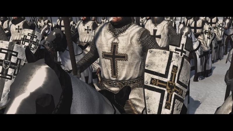 Battle on the Ice (Lake Peipus) AD 1242 | Ледовое побоище | Total War: Attila Cinematic Epic Movie