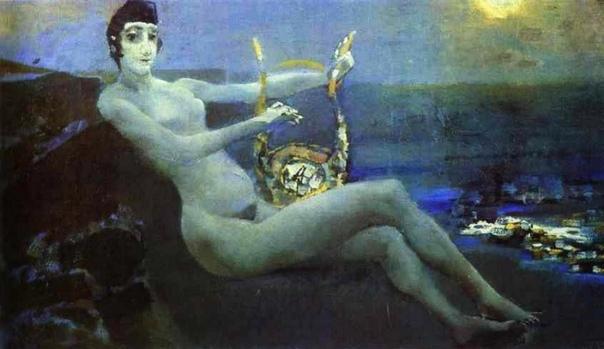 СИМВОЛИЗМ В ИЗОБРАЗИТЕЛЬНОМ ИСКУССТВЕ. Символизм (от греч. Symbolon символ, знак) направление в живописи, возникшее во Франции в 1870-80-х гг. и пришедшее к своему наивысшему расцвету в конце