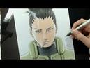 Speed Drawing - Nara Shikamaru (Naruto)