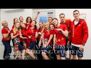 FIFA 2018 VOLUNTEERS of MARKETING OPERATIONS in Nizhny Novgorod by Pavel Furmanyuk