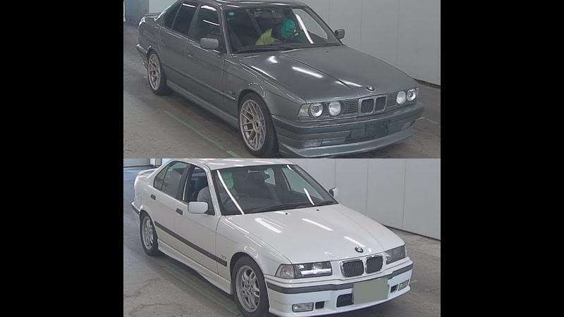 Разбор е34 525 и е36 320 из Японии