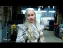 Эмилия Кларк и специальный 5 минутный ролик со съёмочной площадки восьмого сезона Игры престолов