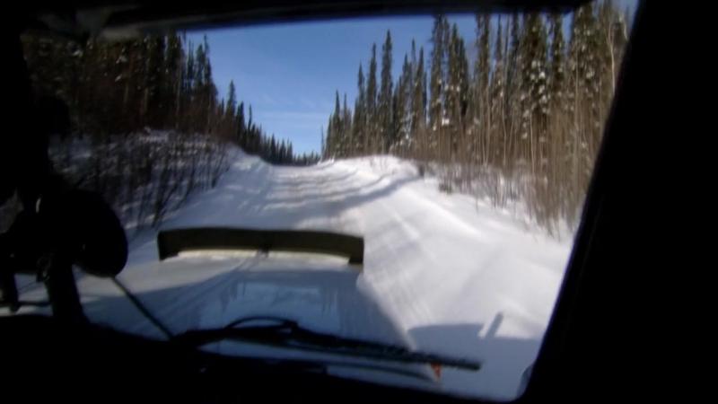 Серия 09. Суровые водилы. Зимники Канады.