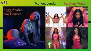 Iggy Azalea - Mo Bounce & Nicki Minaj - Anaconda (Mashup Video)