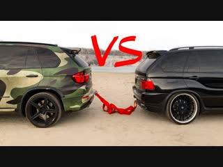 КОМАНДА А BMW X5 НАРИМАНА vs BMW X5M ГОРДЕЯ _ Битва поколений