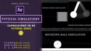 Create Pendulum, Bouncing ball, Springy Simulations using AE Expressions