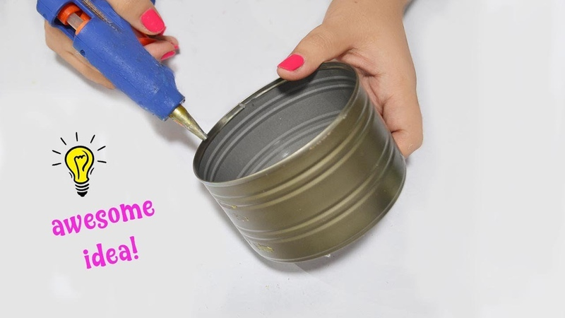 Easy reuse idea with tin can| how to recycle tin can| best out of waste