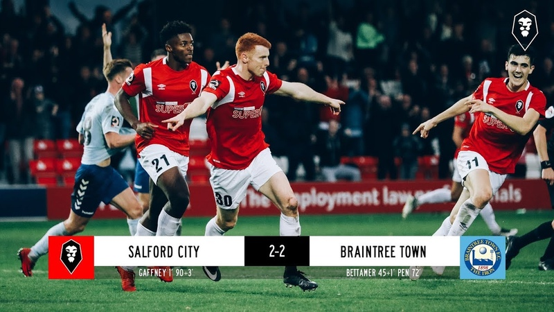 Salford City 2-2 Braintree Town - National League 13/10/18