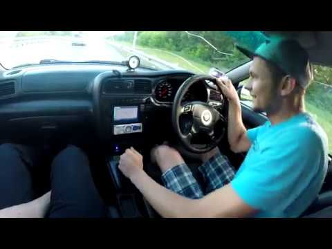 Первая закусь Коляна - Subaru Legacy B4 twin turbo против Mitsubishi Galant VR4 twin turbo