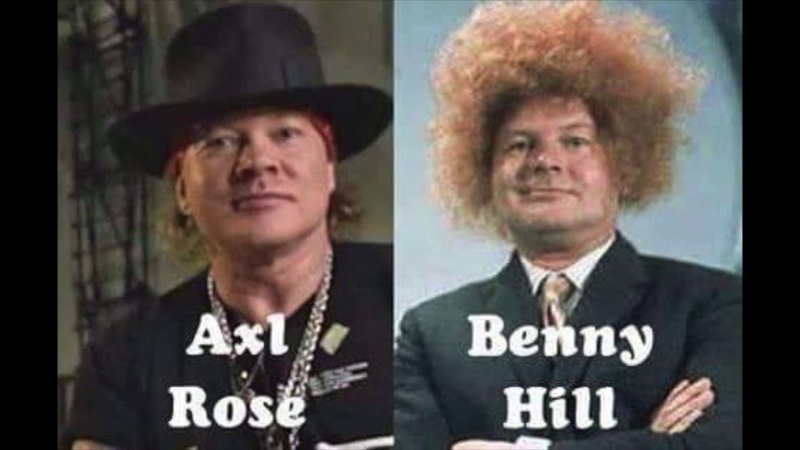 Axl Rose/Benny Hill - Theme from Benny Hill/Welcome To The Jungle