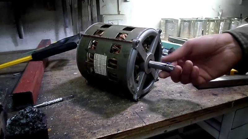 Lijadora de plato, con motor de lavarropas o lavadora