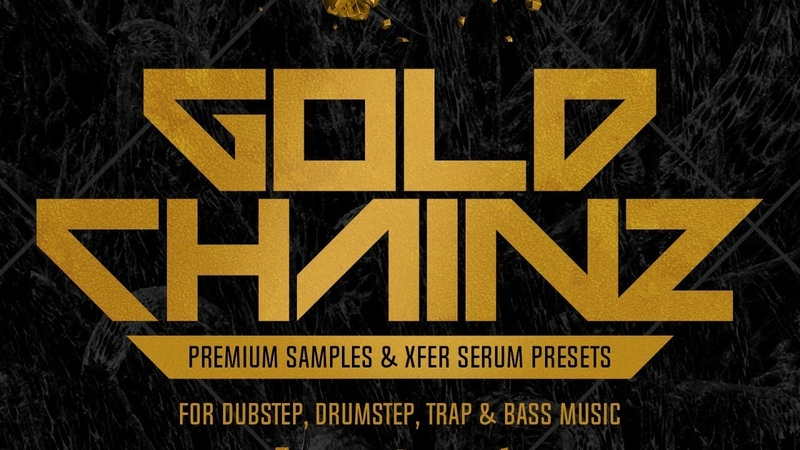 Black Octopus Sound Gold Chainz Xfer Serum presets for Dubstep / Riddim / Trap