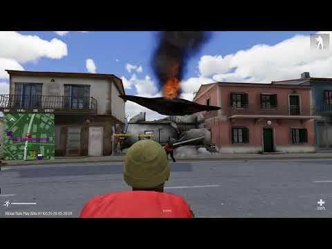 Arma 3 Altis Life Rimas RP 2018.05.28. Призрак-гуманоид угоняет машины!