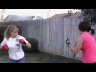 boxing catfight round 3