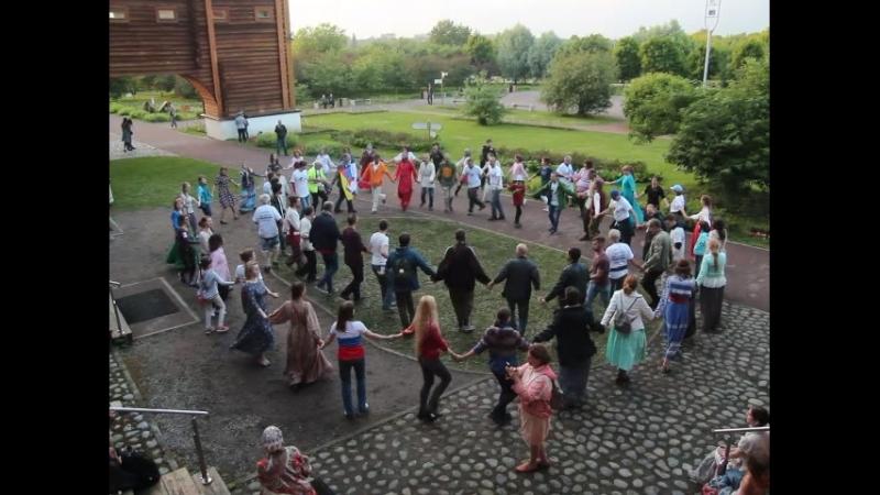 Хоровод в Коломенском. Фестиваль дружбы Планета друзей