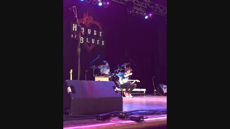 Концерт группы Calpurnia в «House of Blues»; Хьюстон, Техас   12 января, 2019