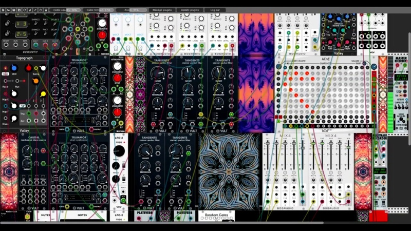 [i.onizere] Branes melodic madness Trummor 2 Drums (VCV Rack Patch)